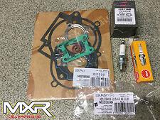 KTM SX 50 2002-08 TOP END REBUILD KIT AB PISTON FULL GASKET SET LITTLE END PLUG