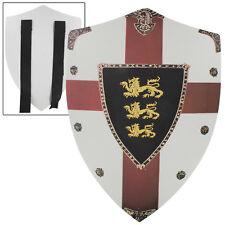 Richard the Lionheart Lion Passant Guardant Medieval Foam Costume Play Shield