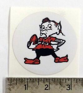 Vintage NFL Browns football logo sticker decal