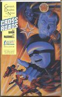 Crossroads 1988 series # 5 very fine comic book