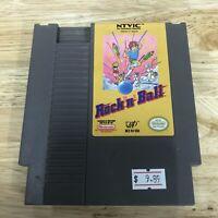 Rock 'n' Ball Nintendo Entertainment System Nes 1990 Cart Only