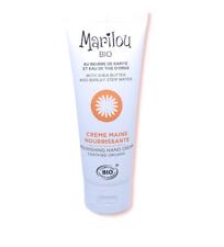 Crème mains nourrissante biologique Marilou bio