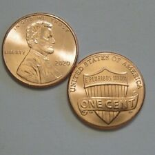 (2) - 2020 P  Lincoln Shield Cent Pennies, In Hand Ready To Ship -U get 2 coins
