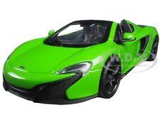 MCLAREN 650S SPIDER GREEN 1:24 DIECAST MODEL CAR BY MOTORMAX 79326