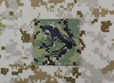Infrared AOR2 NWU III Frog Skeleton Morale Patch IR US Navy NSW SEAL VELCRO®