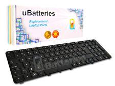 Laptop Keyboard HP Pavilion DV7-4000 DV7-5000 - Black, Large Enter Key