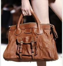 CHLOE Authentic Edith Brown Leather Bag