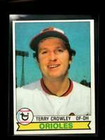 1979 TOPPS #91 TERRY CROWLEY EXMT ORIOLES