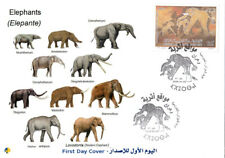 Algeria FDC Evolution of Elephant Wild Animals Fauna Elephants mammals