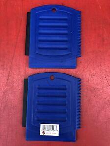 BLITZ SUBZERO FROSTBITER 18424 COMPACT ICE SCRAPER ICE CHIPPER & MINI SQUEEGEE