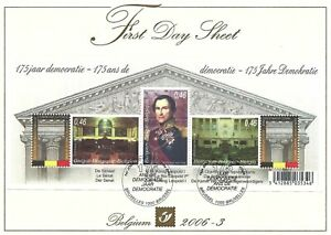 [FDS185] Belgium FDS 2006-3 Royalty First Day Sheet SUPERB