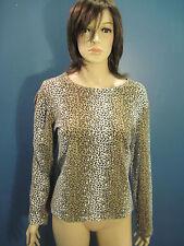XL LEOPARD PRINT blouse by KIM ROGERS