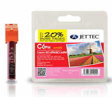 JetTec Compatible CANON BCI 6 Photo MAGENA INK BCI-6PM C6PM Printer INK