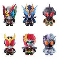 Bandai Kamen Rider ColleChara 05 Figure Ankh Agito Zi-O Trinity Grease Set 6 pcs