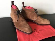 CARMINA Chukka Boots in Snuff Suede Ref # 10027 Rain Last UK6/US7 - NIB