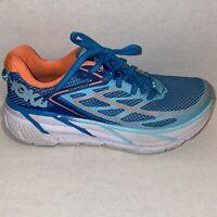 Hoka One One Clifton 3 Blue Running Shoes - Women's Size 6