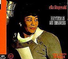 Rhythm Is My Business by Ella Fitzgerald (CD, Jan-1999, Verve)