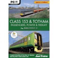 Class 153 y Totham Poder Pasajeros y flete Agregar en Railworks2 PC Nuevo