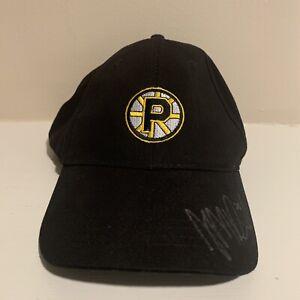 Providence Bruins AHL Minor League Hockey Strapback Hat Autographed OSFA