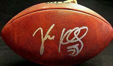 "Luke Kuechly Autographed Authentic ""Duke"" Football From The Carolina Panthers"