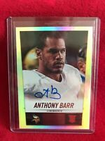 ANTHONY BARR NFL Vikings 2014 Panini Score Hot Rookies Rookie RC Auto #337 Card
