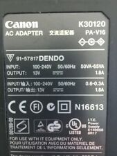 Cannon power supply AC Adapter PA-V16