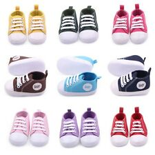 New Infant Boy Girl Anti-slip Sole Crib Shoe Sneaker Newborn for 0-12M Baby