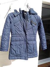 Esprit Jacke Mantel Mädchen blau Gr. 128/134