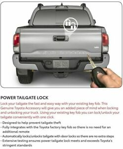 Genuine Toyota 2019 & Up Tacoma Double Cab Short Bed & Access Cab Tailgate Lock