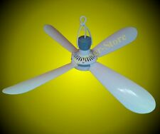 Móvil Ventilador de techo 230V , 4 Paletas ventilador Muy Silencioso Plástico