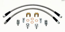 Willwood Brakes 220-11372 Brake Line Front Axle Silver