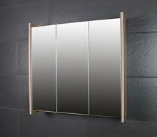 70cm Spiegelschrank FROSTI Badezimmermöbel Sonoma/Eiche