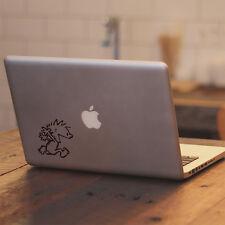 Calvin & Hobbes Naked for Macbook Air/Pro Laptop Car Window Vinyl Decal Sticker