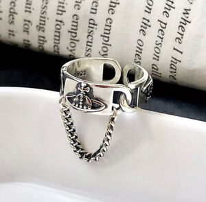 Vivienne Westwood Ring Resizable 925 Silver