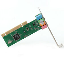 5.1 Surround 4 Channel  PCI Sound Audio Card MIDI for PC Windows XP/7/8/10 HQ