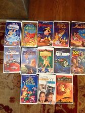 Beauty and Beast VHS + Other VHS Disney Classics $1450