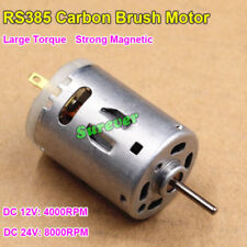 DC 12V-24V 8000RPM Large Torque Strong Magnetic Micro Mini RS-385 Motor DIY Toy