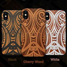 Maori 3 Wood Phone Case For iPhone 13/11/11 Pro/Max/Mini, X/XS/XR/XS Max
