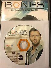 Bones – Season 6, Disc 4 REPLACEMENT DISC (not full season)