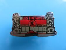 Pin's - 038 - Restaurant - Les Fontaines - LF