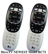 DirecTV RC73 (2 PACK) Genie Remote Controls RF/IR Replaces RC71 RC72