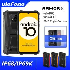 Ulefone Armor 8 IP68 Rugged Phone Android 10 4GB+64GB Helio P60 Octa-core 6.1 in