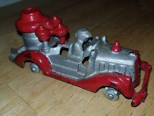 Vintage Hubley Fire Engine Truck Toy Pumper