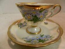 Vintage M.B.D. Co. Highmount Quality April Daisy Tea Cup & Saucer Excellent Cond