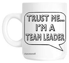 Trust Me I'm A Team Leader Gift Mug shan676