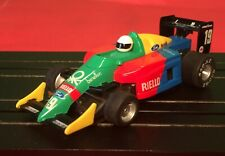 TYCO 440X2 MAGNUM440 BENETTON FORD  F-1, INDY FORMULA  MUTI COLOR #19 EXCELLENT.