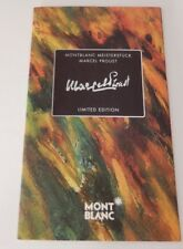 Montblanc Marcel Proust Limited Edition Book - Original Book in Box with Pen
