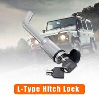 Hitch Pin Lock Security Tow Ball Bar L type Caravan Trailer Parts Anti Theft New