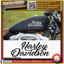 2 stickers autocollant harley davidson sticker deco réservoir casque moto hd
