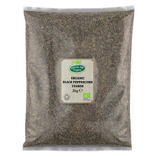 Organic Cracked Black Pepper Coarse (Crushed) 2kg Certified Organic